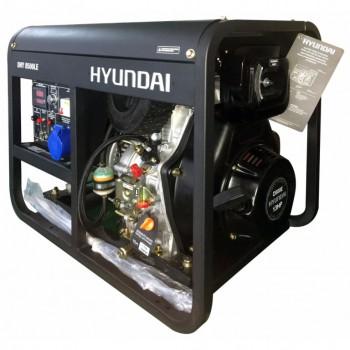 Дизельный генератор HYUNDAI DHY 8500LE АКЦИЯ:Бесплатная доставка плюс наложенный платеж за наш счет