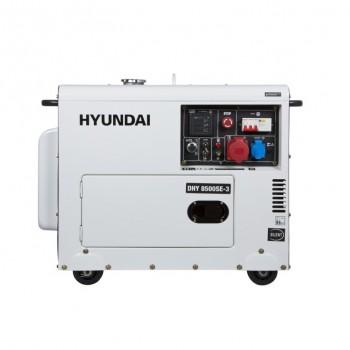 Дизельный генератор HYUNDAI DHY 8000SE-3 АКЦИЯ:Бесплатная доставка плюс наложенный платеж за наш счет