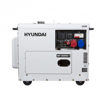 Дизельный генератор HYUNDAI DHY 8500SE-T АКЦИЯ:  доставка и наложенный платеж в подарок