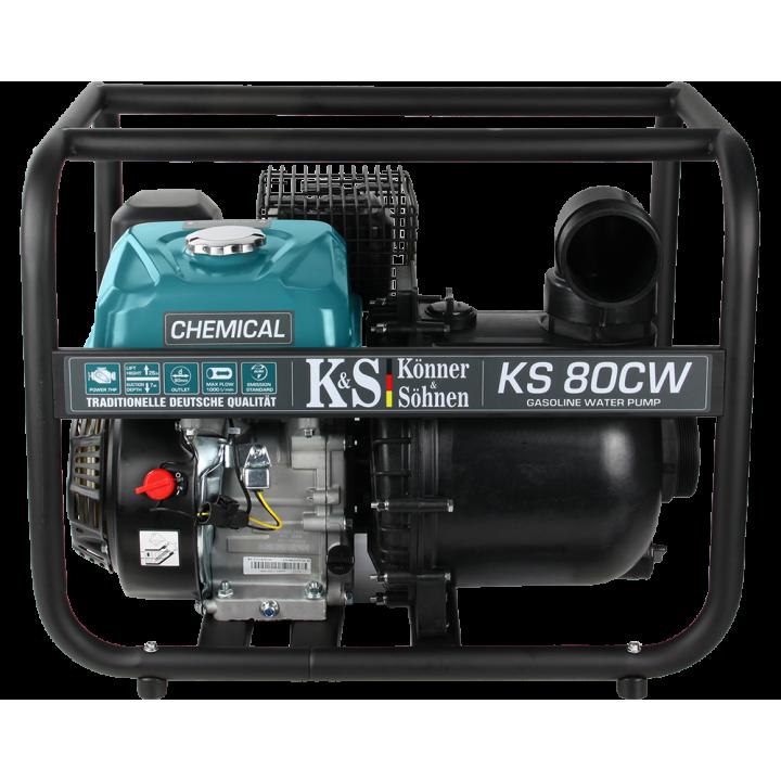 Мотопомпа Konner&Sohnen KS 80 CW