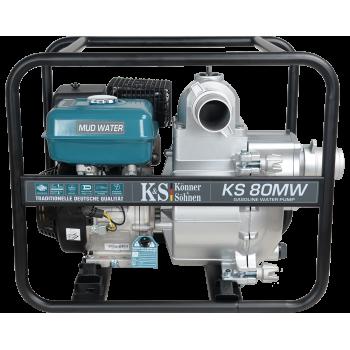 Мотопомпа Konner&Sohnen KS 80 MW