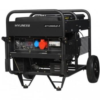 Бензиновый генератор HYUNDAI HY 12500LE-3  АКЦИЯ:Бесплатная доставка плюс наложенный платеж за наш счет