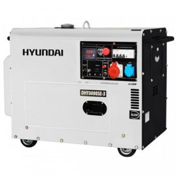 Дизельный генератор HYUNDAI DHY 8500SE-3 АКЦИЯ: доставка и наложенный платеж в подарок