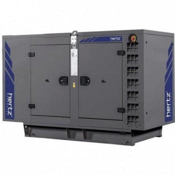Дизельный генератор Hertz HG 140 RC в кожухе