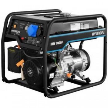 Бензиновый генератор HYUNDAI HHY 7050F  АЦИКЯ: доставка в подарок