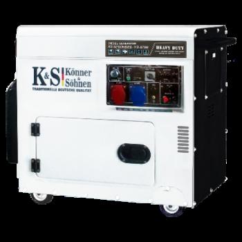 Дизельный генератор KÖNNER&SÖHNEN KS 9202 HDES-1/3 ATSR