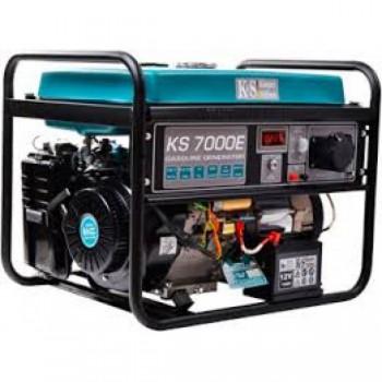 Бензиновый генератор KÖNNER&SÖHNEN KS 7000E АКЦИЯ: 20л топлива+ масло+выхлопная труба в подарок