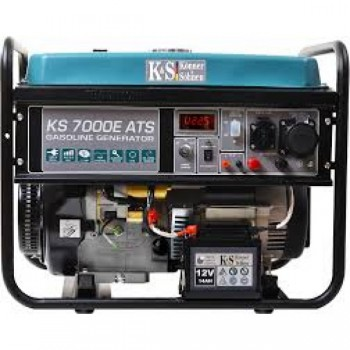 Бензиновый генератор KÖNNER&SÖHNEN KS 7000E ATS АКЦИЯ: 20л топлива+ масло+выхлопная труба в подарок