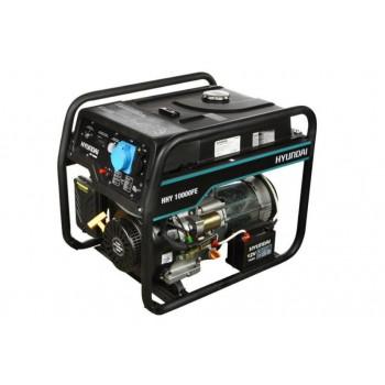 Бензиновый генератор HYUNDAI HHY 10000FE АКЦИЯ:Бесплатная доставка плюс наложенный платеж за наш счет