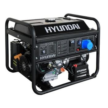 Бензиновый генератор HYUNDAI HHY 9020FE АКЦИЯ:Бесплатная доставка плюс наложенный платеж за наш счет