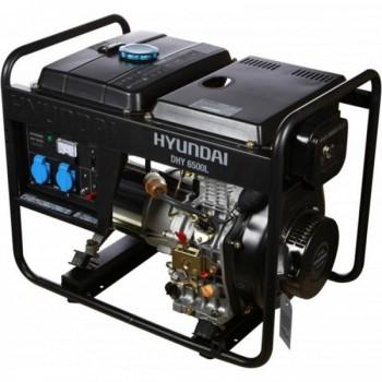 Дизельный генератор HYUNDAI DHY 5000L АКЦИЯ:Бесплатная доставка плюс наложенный платеж за наш счет